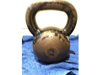 Gym Kettle bell weights