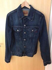 Men's Replay Jeans Denim Jacket (blue in size medium)