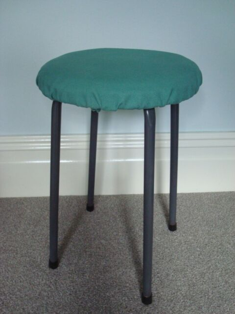Incredible Small Stool With Green Cotton Seat Cover In Exeter Devon Gumtree Gmtry Best Dining Table And Chair Ideas Images Gmtryco