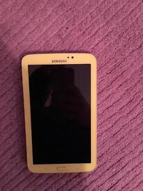 """Samsung galaxy tab 3 ( yellow ) 7"""""""