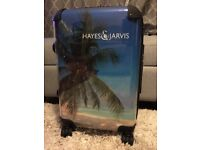 Trolley suitcase by Hayes & Jarvis worth £120