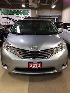 2013 Toyota Sienna XLE 7 Passenger Leather Sunroof