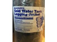 Cold water tank lagging jacket