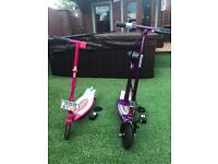 Razor electric scooters £70 for both