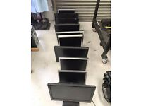 11 x Computer PC monitors screens - job lot - flatscreen LCD