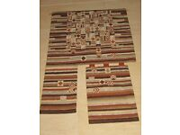 WALL HANGING: HAND SEWN TAPESTRY