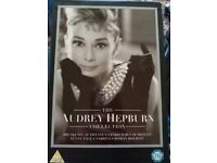 Audrey Hepburn DVD box set, mint condition