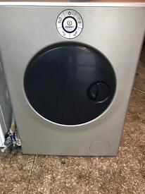 Silver washing machine indesit 7kg