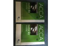 ACCA PAPER F1, F2, F3 - Study Text and Practice and Revision Kit !!NEW!! (6 textbooks total)