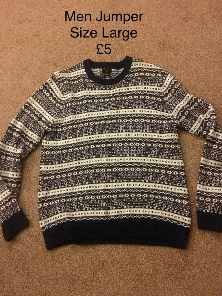 Men's Jumper Size Large