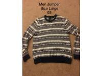 Men's Jumper Size Large