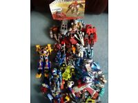 Transformers and action toys