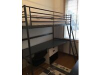 New condition bunk bed desk