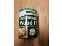 Part Used Ronseal High Performance Wood Filler
