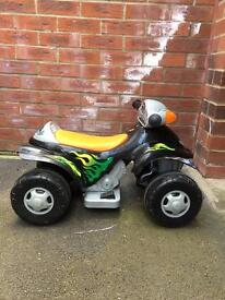 Young child's battery operated quad