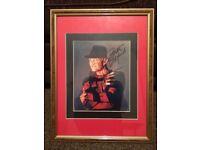 Freddy Krueger Signed Photo