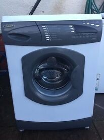 !!!SILVER/WHITE HOTPOINT 1400 SPIN 6 KG WASHING MACHINE FULLY SERVICED!!!