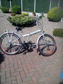 Folding Mountain Style Bike