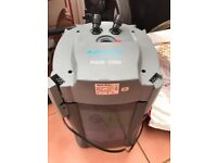Fish tank canister filter aqua one 1000