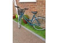Lady's shopping bike