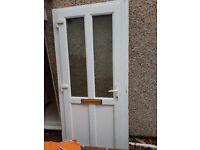 Front double glazed door