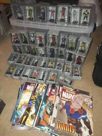 MARVEL AND DC FIGURINE COLLECTION JOB LOT