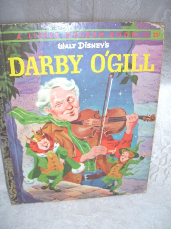 A LITTLE GOLDEN BOOK DARBY O