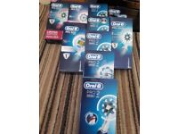 Electric tooth brushes brand new not seconds