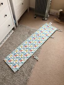 Cot bumper for baby's cot great condition