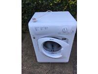 "Hotpoint ""Aquarius"" Tumble Dryer 8kg capacity (model TVHM 80) with unused vent tube"