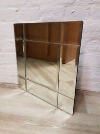 Modern Wall Mirror (DELIVERY AVAILABLE)