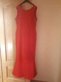 Stunning red dress size 14