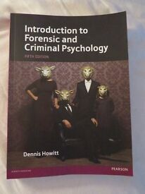 Introduction to Forensic and Criminal Psychology Textbook