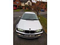 BMW e46 316i 1.9 automatic,full leather,NEW MOT.