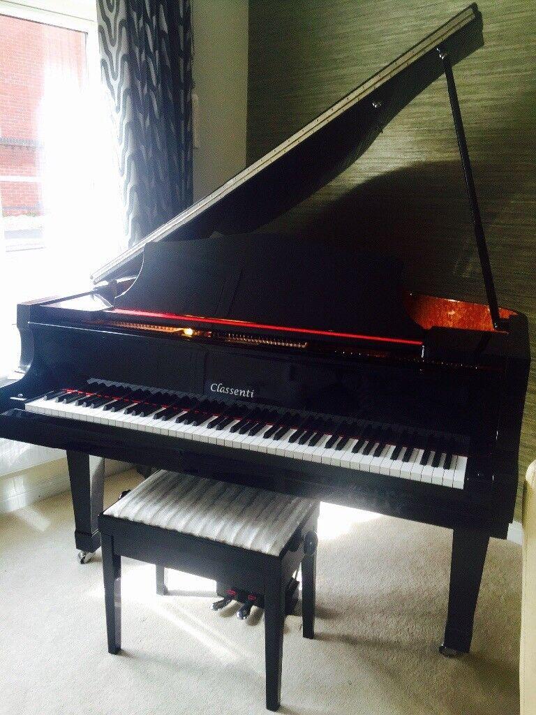 Beautiful genuine baby grand piano