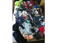 Job lot of children's clothes