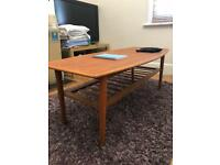 Mid-century teak(?) coffee table - excellent condition