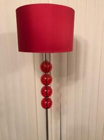 Next red floor lamp