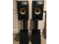 B&W 685 Main Stereo Speakers with Yamaha RX-V673 7.2 Home Theater Receiver £475