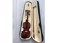 Brand New full size Bentley 4/4 violin +case+bow