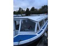 Broads cruiser, Alpha 32, boat, houseboat