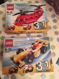 Lego unopened boxed Lego sets