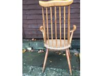 Two Ercol Vintage Carver Dining Chairs
