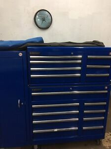 Side by side Toolbox with cabinet