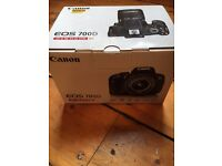 Canon EOS 700D 18MP Digital SLR DSLR Camera BNIB Black (Kit w EFS 18-55mm IS STM)
