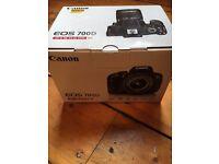 Canon EOS 700D 18MP Digital SLR DSLR Camera BNIB Black (Kit w EFS 18-55mm IS STM)