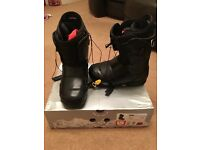 Used Burton ION snowboard boots. Men's size 9UK