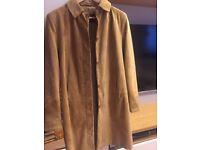 Ladies MILAN Leather coat size 12