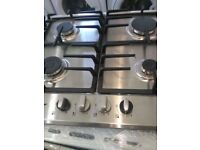 (ex display) Neff T22S36N0GB Auto Ignition 4 Burner 60 Cm Gas Hob - Stainless Steel