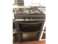 60CM BLACK LOGIK GAS COOKER